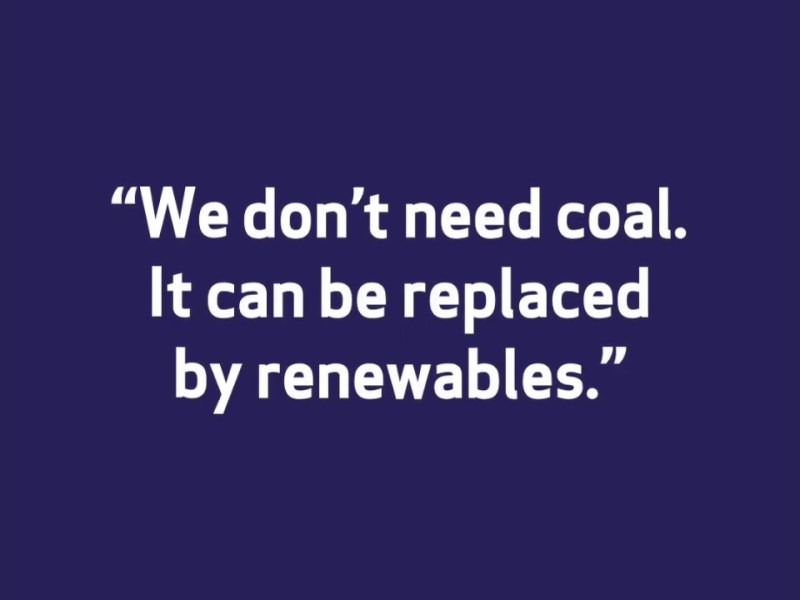 """Oakland Misconceptions About Coal – """"We Don't Need Coal. It Can Be Replaced By Renewables"""""""