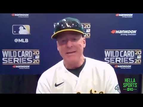 Oakland A's manager Bob Melvin on Game 1 loss to the Chicago White Sox to open the Wild Card series