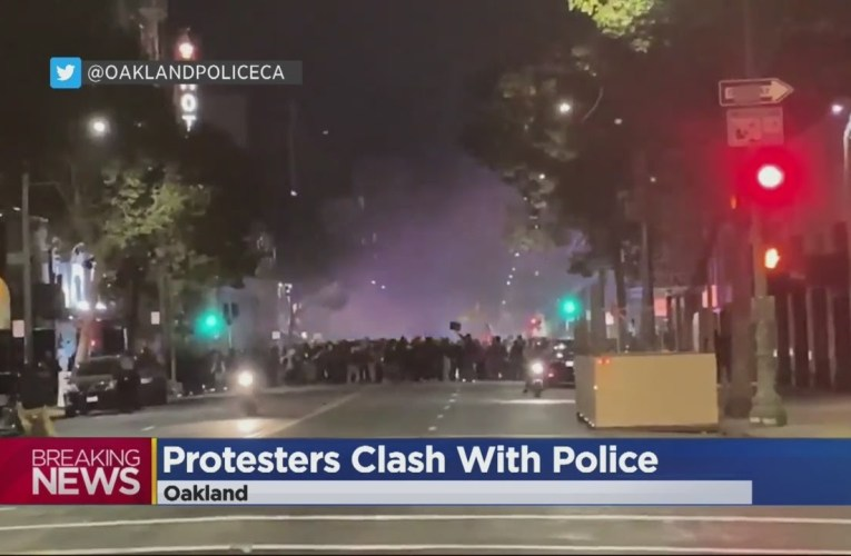 Oakland Breonna Taylor Protesters: Protesters Clash With Oakland Police, Several Arrested
