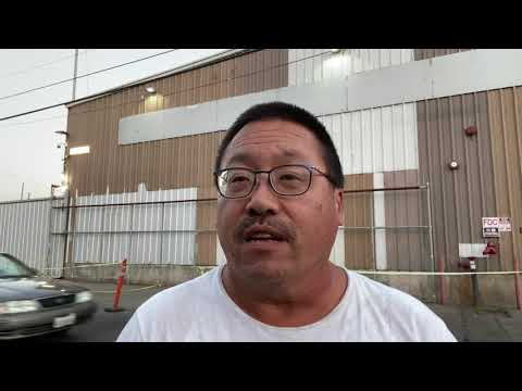 Oakland Heat Related DEATH At Operation HomeBase Homeless Trailer Park by Derrick Soo