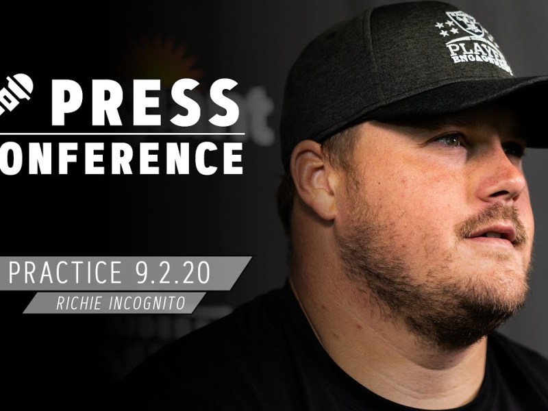 Richie Incognito on Growing as a Leader, Playing for Coach Gruden | Las Vegas Raiders