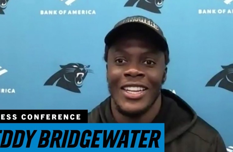 Teddy Bridgewater Previews His First Game As A Panther, Against The Las Vegas Raiders