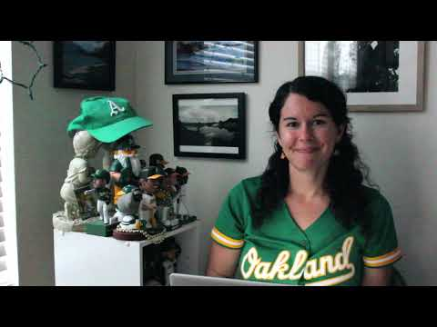 "Michelle Milliken Is Back With ""The Optimistic Oakland A's Report"" On YouTube For 09.06.20"