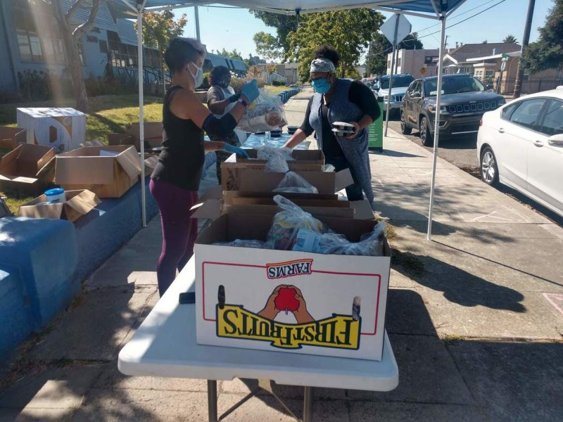 OUSD's Grab and Go Student Meal Service Returned to Summer Rules Thursday Sept 3rd