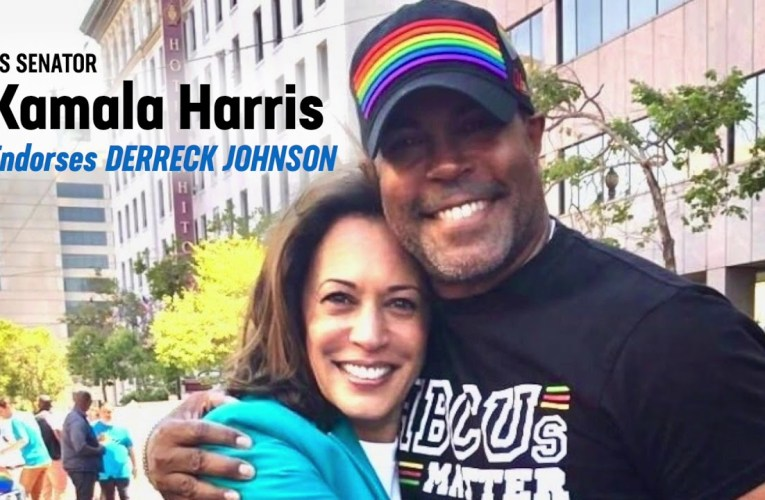 Derreck Johnson Amps Kamala Harris Endorsement vs Kaplan's Sanders In Oakland City Council Race