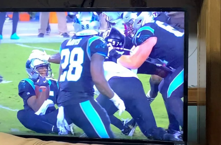 Falcons Charles Harris Ejected For Dirty Hit On Head Of Teddy Bridgewater, Panthers QB, On TNF