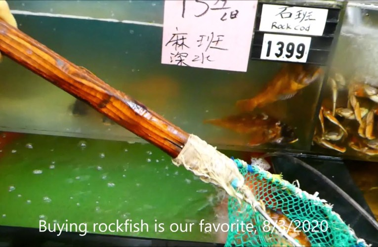 Shop For Live Seafood After 5pm Saturday In Pandemic Oakland Chinatown 2020 屋崙華埠採購海鮮V.2