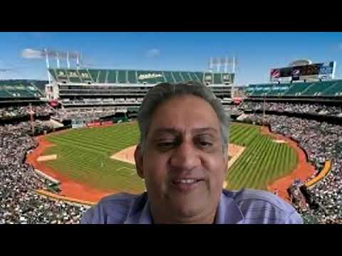 Vasu Vaddiparty 10-2-20 Talks 1st Time in 14 Yrs Oakland A's get by 1st Round. Vs. Astros Mon Gm1 LA