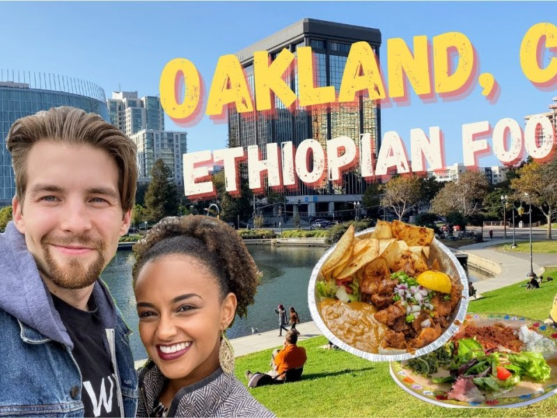 YouTube Couple Tries Ethiopian Food In Oakland