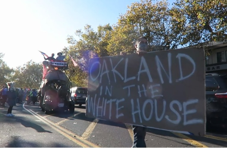 2020 Presidential Election Vlog From Oakland