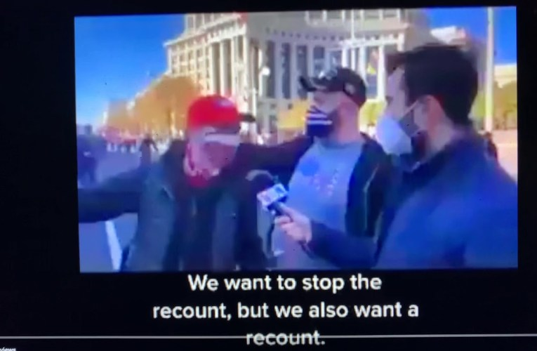 "Election Recount Supporters In Video Say ""Donald Trump Is A Genius. That's What The J Stands For"""