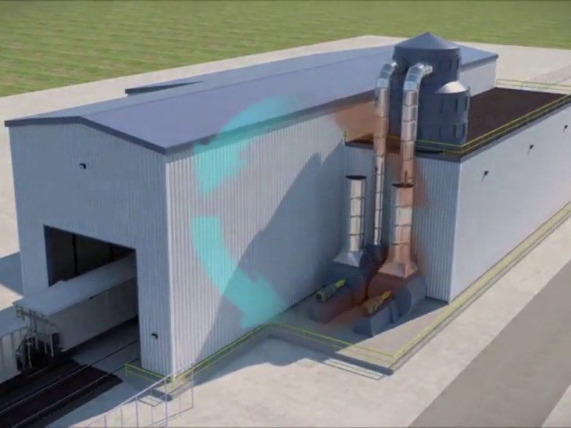 Insight Terminal Solutions ITS Oakland Bulk And Oversized Terminal, Oakland Global Video