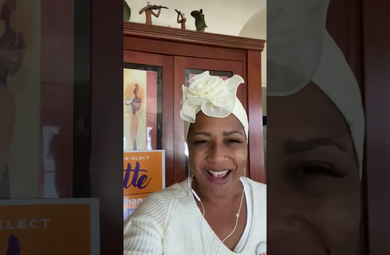 Lynette Gibson McElhaney, Oakland District Three Councilmember, Celebrates Joe Biden – Kamela Harris