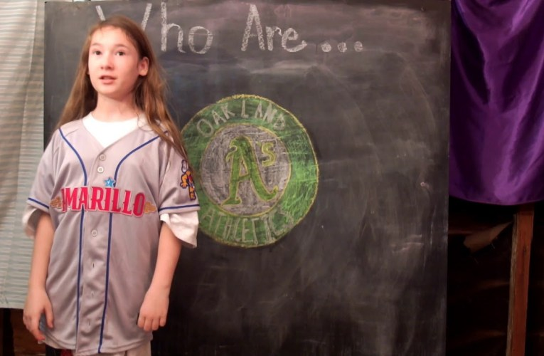 Mollee Of Mollee's Adventures On YouTube Asks Who Are The Oakland Athletics?
