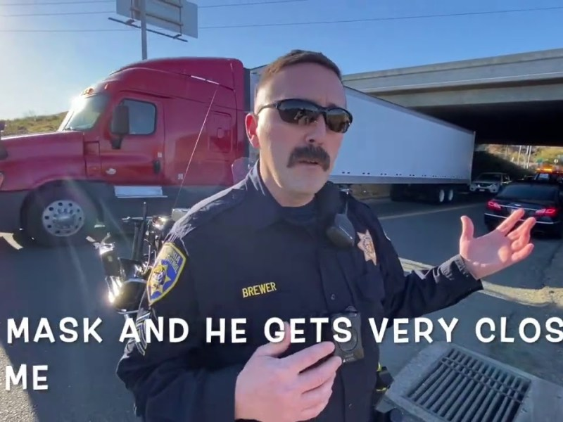 Bay Area Transparency: Put Your Mask On! Fairfield, CA First Amendment Cop Watch