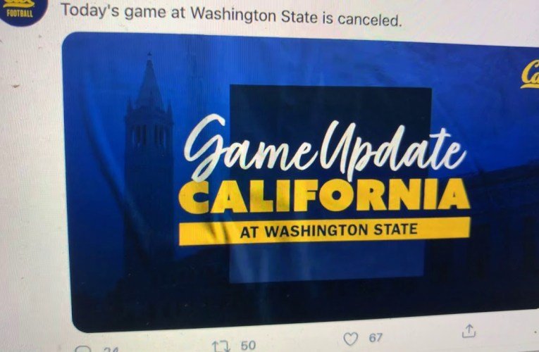 California Vs Washington State Game Cancelled Because Of COVID-19