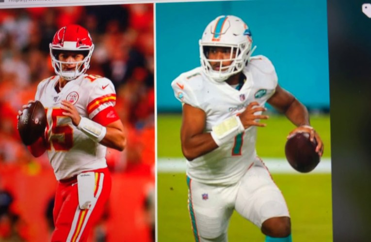 Chiefs vs Dolphins, Mahomes vs. Tagovailoa: The Leigh Steinberg Bowl On CBS, Jim Nantz and Tony Romo
