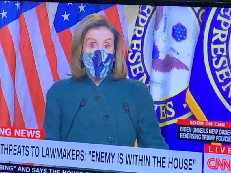 Nancy Pelosi Refers To Marjorie Taylor Greene Without Using Her Name, Says Enemy Is Within The House