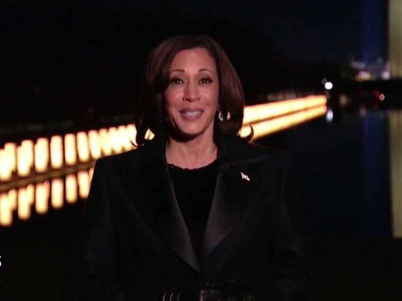 WATCH: Kamala Harris First Speech as Vice President, Urges Country To 'See Beyond The Crisis'