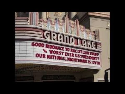 Grand Lake Theater: Facebook Critics Of The Marquee Messages Are Not From Oakland