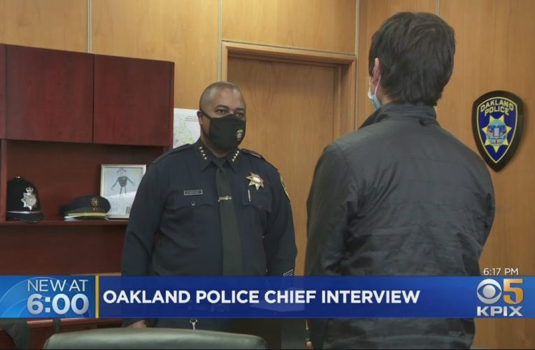 One-On-One With Oakland's New Police Chief LeRonne Armstrong