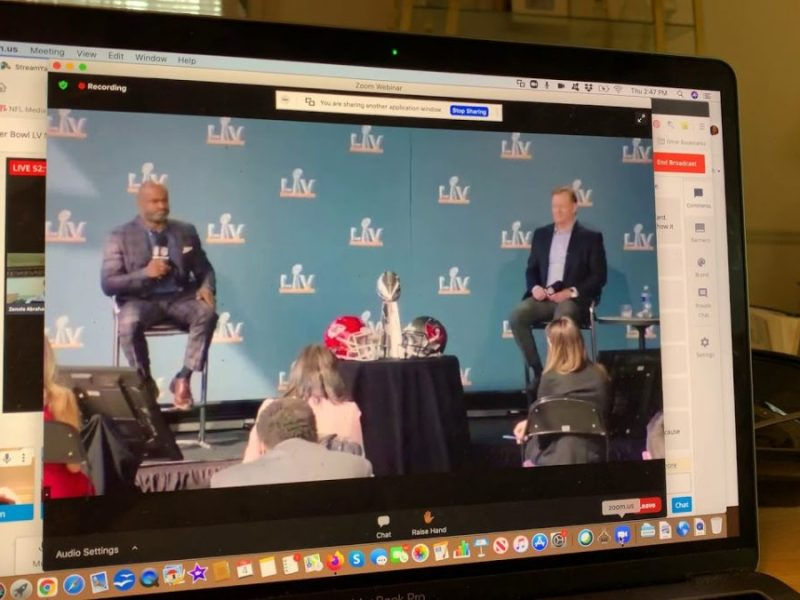Super Bowl LV: Commissioner Goodell and NFLPA ED DeMaurice Smith Talk 17 Game NFL Schedule