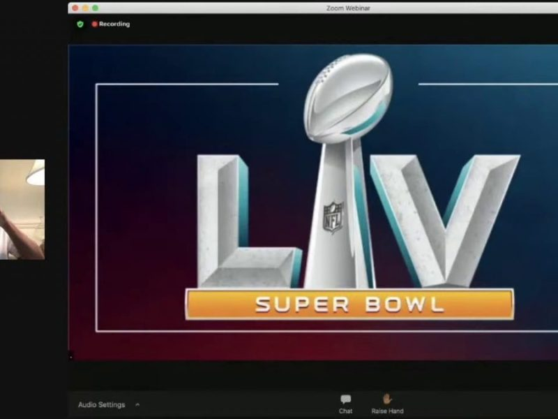 Super Bowl LV: Roger Goodell NFL Commissioner Press Conference, With NFLPA's DeMaurice Smith