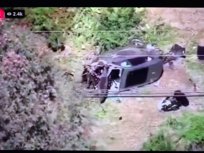 Tiger Woods In Single Car Crash In Los Angeles Tuesday Morning 7:12 AM