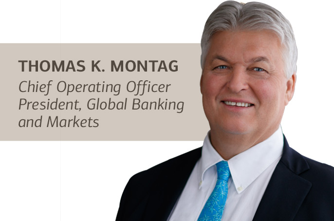 Tom Montag - Bank of America COO