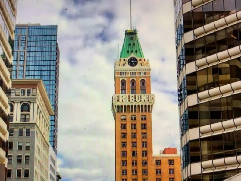 Downtown Oakland City Center And Tribune Tower Photo Tops On Instagram Today