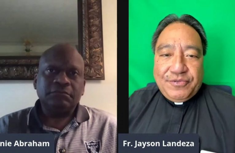Father Jayson Landeza Talks About The Pandemic And Says Gangs Are To Blame For Violence In Oakland