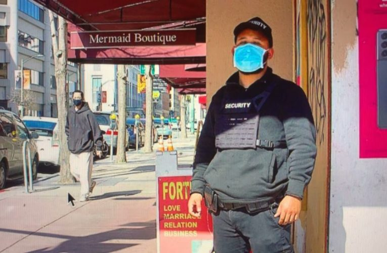 Oakland Chinatown Now Has Obvious Security Presence As This Instagram Post By Andreavidrio22 Shows