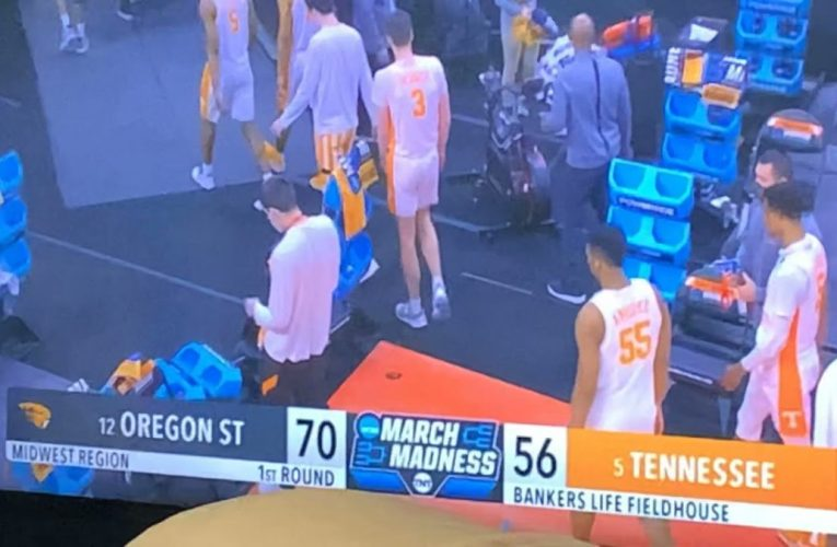 Oregon St 70, Tennessee 56 As 17 Upsets 5 In 2021 NCAA Tournament 1st Round