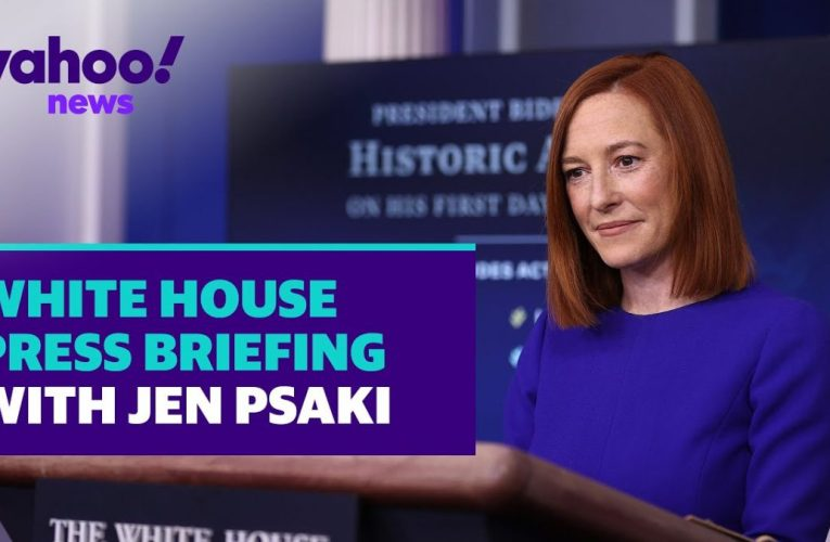 Biden Administration White House Press Briefing With Jen Psaki For Monday March 22 2021