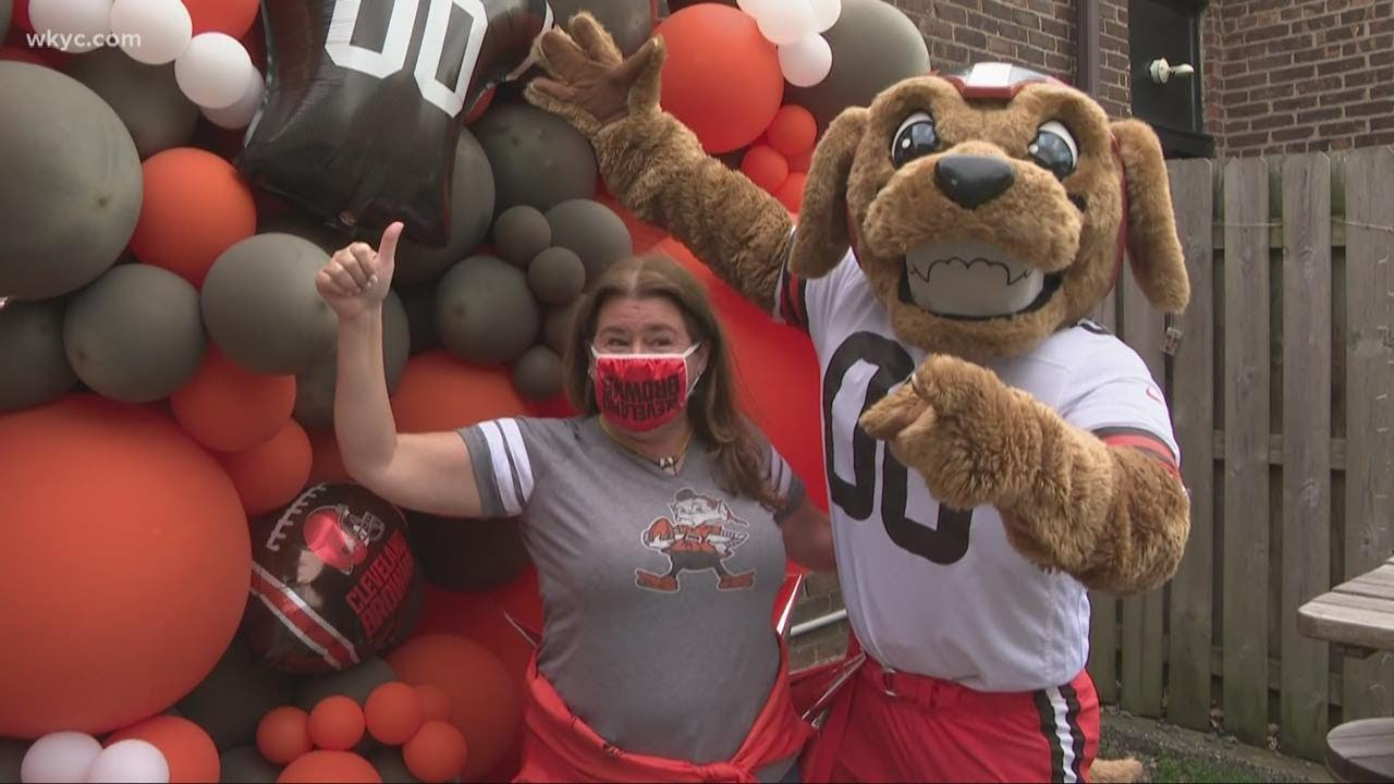 Browns Backers from all across America flock to Cleveland for NFL Draft