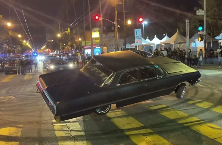 Crazy car ran over random people during car show in San Francisco, Mission street (March 27, 2021)