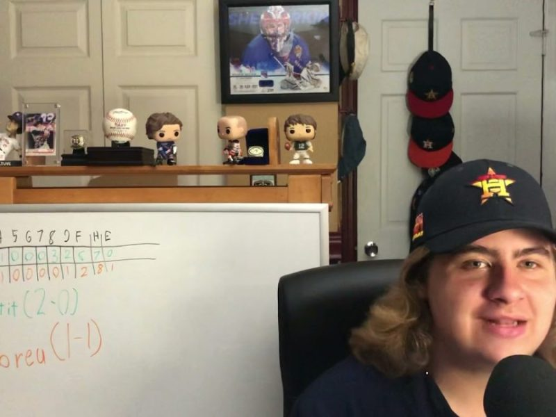 Hilariously Good Houston Astros vs Oakland As Game 8 Recap Vlog By Young Vlogger