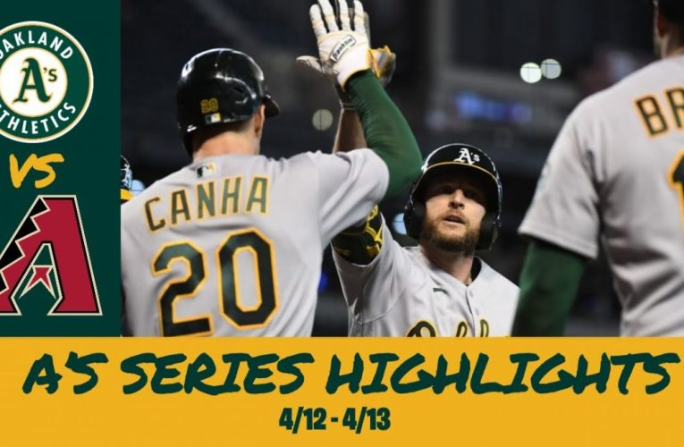 Oakland Athletics Series Highlights vs Diamondbacks (4/12 – 4/13)