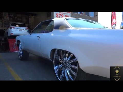 Oldsmobile Delta 88 on Chrome feet in West Oakland, Ca Ep.84