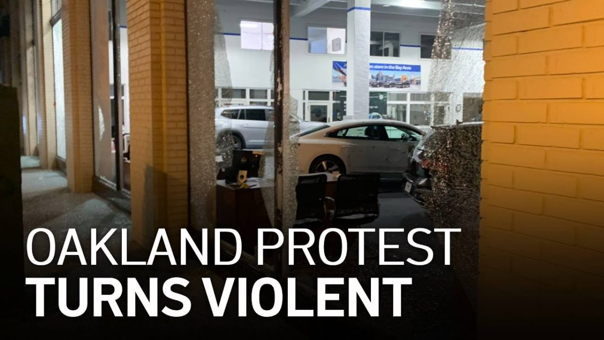 oaklandnewsnow.com: Peaceful Demonstration Over Deadly Police Shootings Turns Violent in Oakland