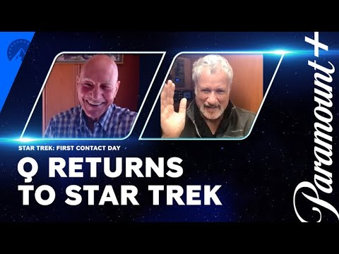 Q Returns For Star Trek: Picard Season 2 | First Contact Day | Paramount+