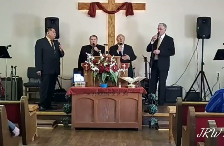 Redefine Quartet from McAlester, OK live at Oakland Full Gospel Holiness Church in Oakland, OK