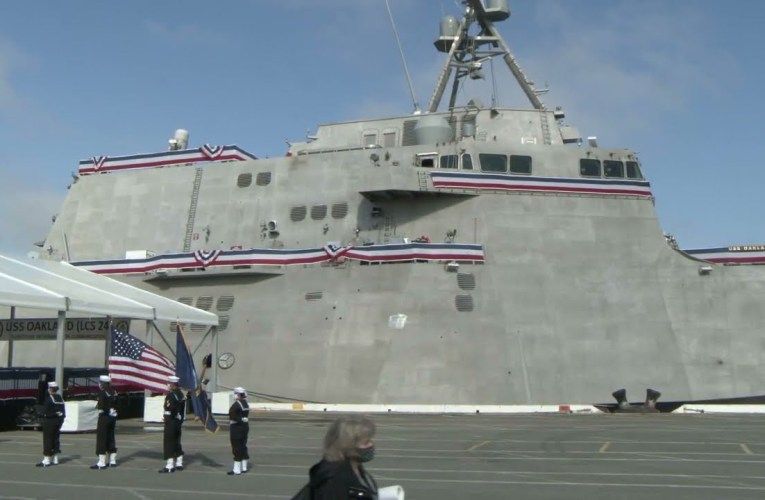 USS Oakland (LCS 24) Joins the Fleet