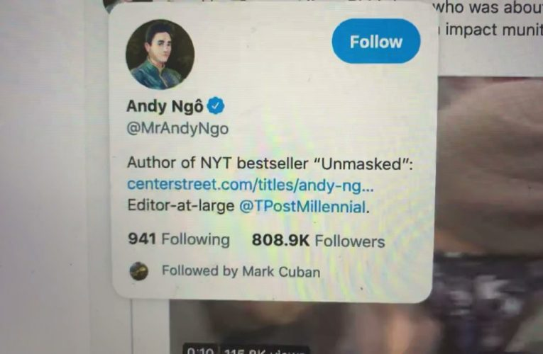 Will Someone Tell Andy Ngo A Black Guy Protesting Does Not Mean He's From Black Lives Matter