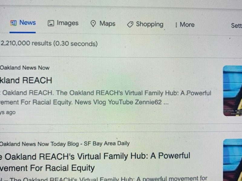 Zennie62Media Helps OUSD And Oakland REACH, Which Ignores Its Oakland News Now For Lesser NY Times