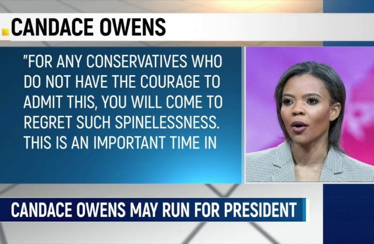 Conservative Commentator Candace Owens May Run For President