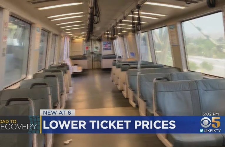 COVID: BART Offers Lower Fares To Lure Back Riders
