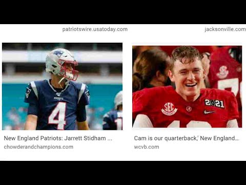 Jarrett Stidham Vs Mac Jones For Backup To Cam Newton In Auburn Vs Alabama Clash Of Patriots QBs