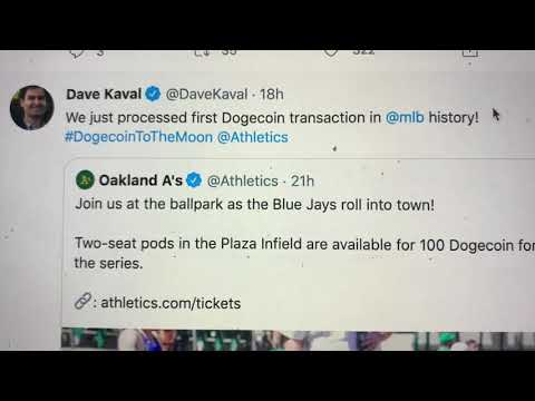 Oakland Athletics Allow Dogecoin Purchases But When Will Coinbase Add The Cryptocurrency? - Blog