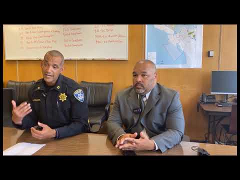 Oakland Police Captain Jones With Ceasefire, Captain Holmgren Talk Violent Crime